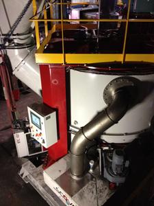 Installation d'un Malaxeur RTM4000 aux Fonderies Vénissieux