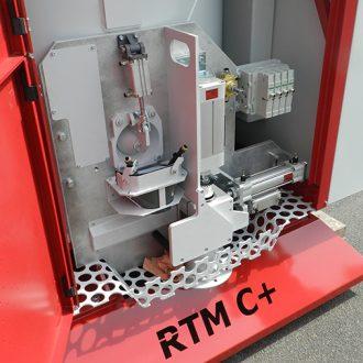 detail du malaxeur module d'aptitude au serrage