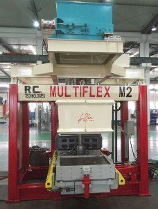 machine à mouler de fonderie multiflex