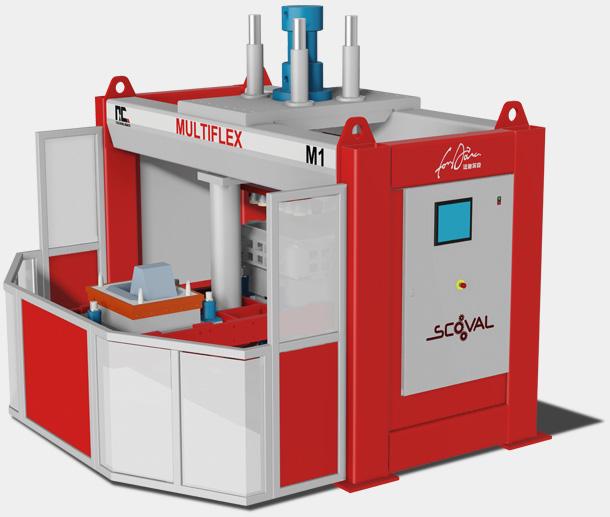 machine à mouler de fonderie multiflex Scoval