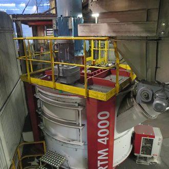 malaxeur de fonderie rotomax 4000