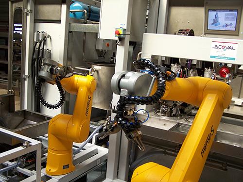 Robot fonderie